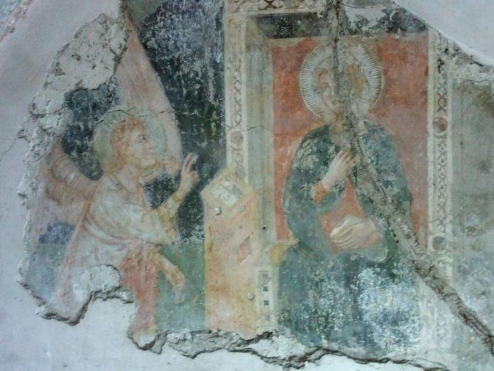 nola affreschi san biagio