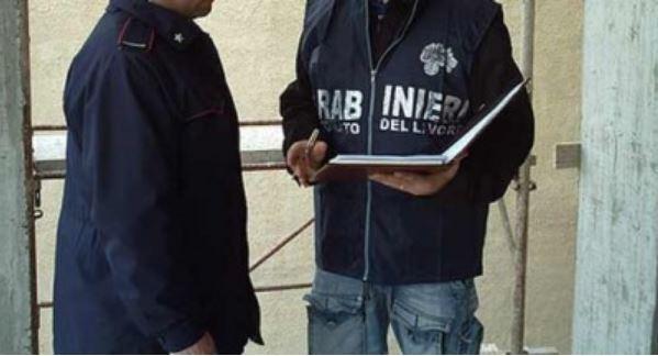 Carabinieri tutela lavoro Lavoro nero
