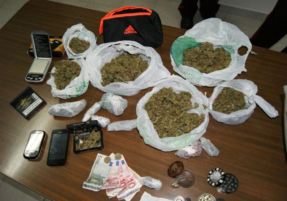 spaccio droga marijuana