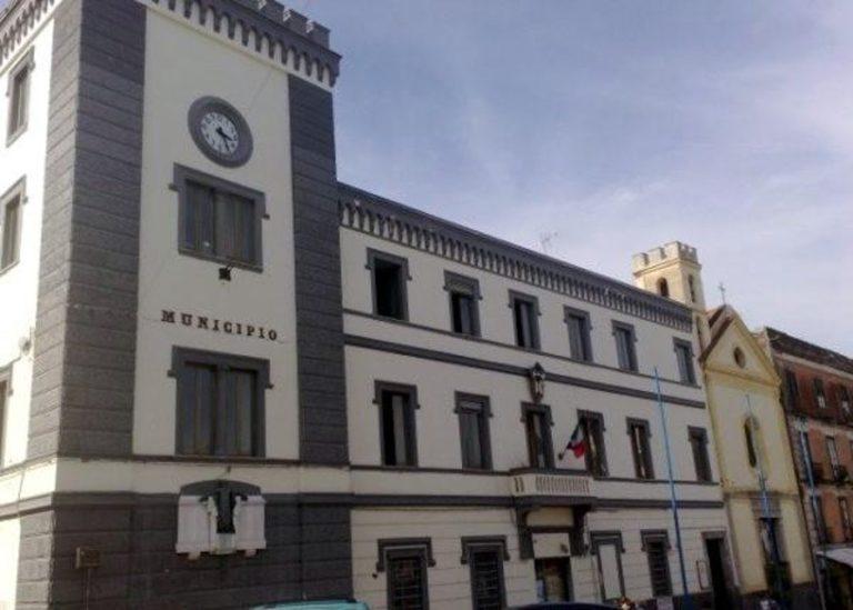 Risse ad Ottaviano, il sindaco chiude piazza Mercato