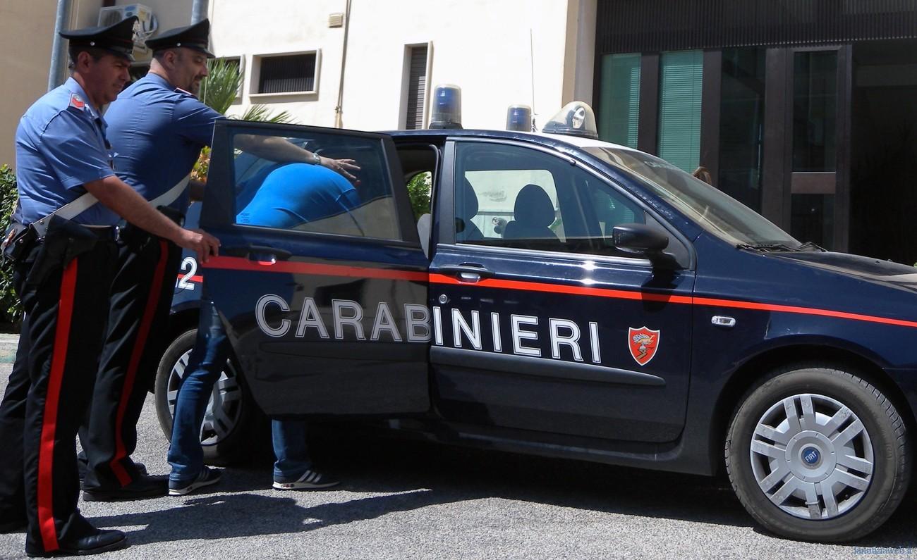 s. anastasia intera carabinieri arresto