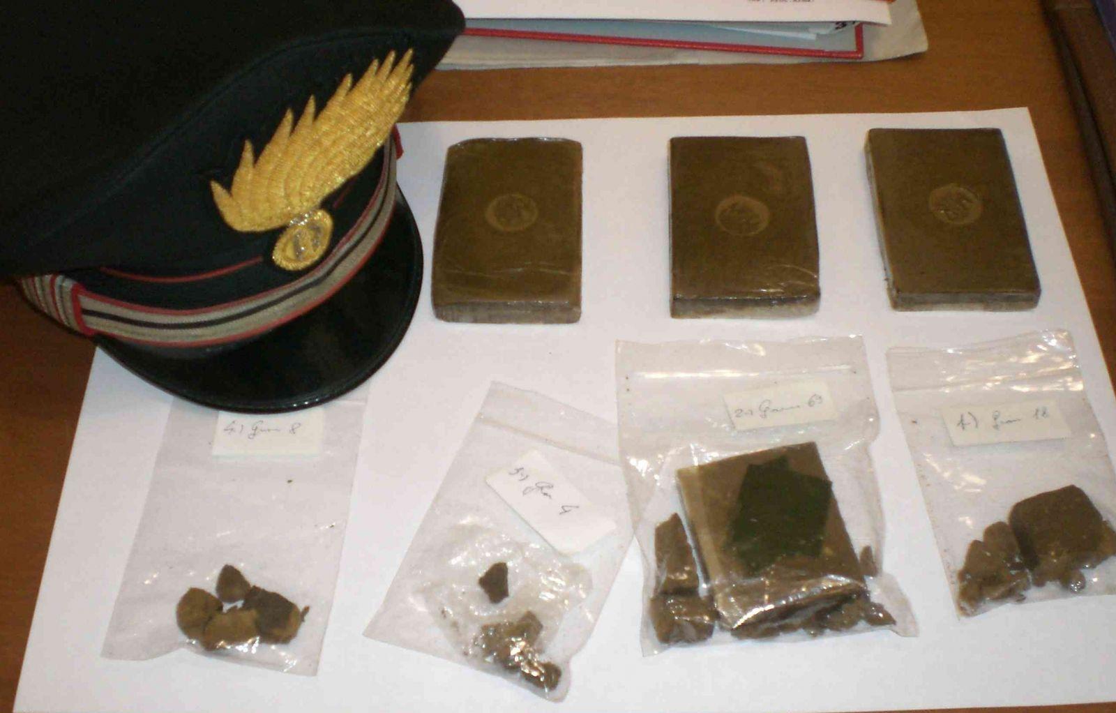 Trasferta per spacciare droga, arrestato 44enne di Sant'Anastasia