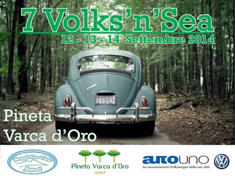 Napoli.Parte oggi la VII edizione del Volks'n'Sea