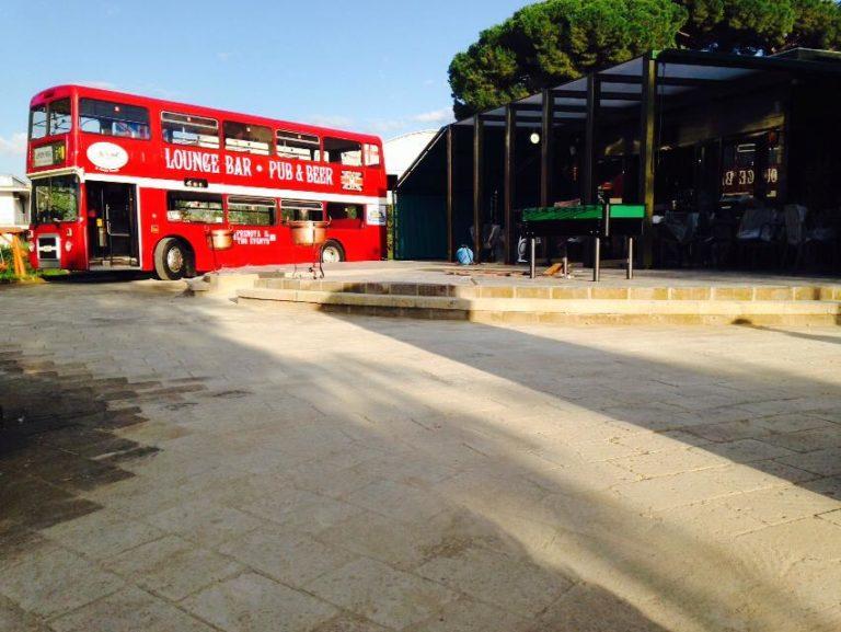 """London Park"", inaugura bus inglese e chiosco, mercoledì alle 18.30"