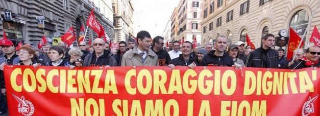 Fiom, venerdì manifestazione per lo sciopero generale
