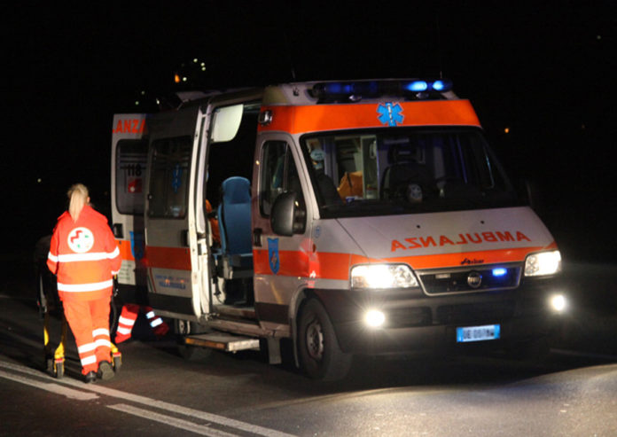 ambulanza incidente