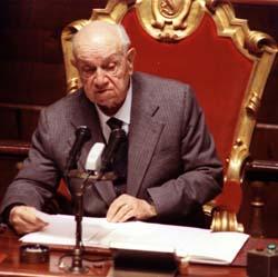 senatore FRANCESCO DE MARTINO