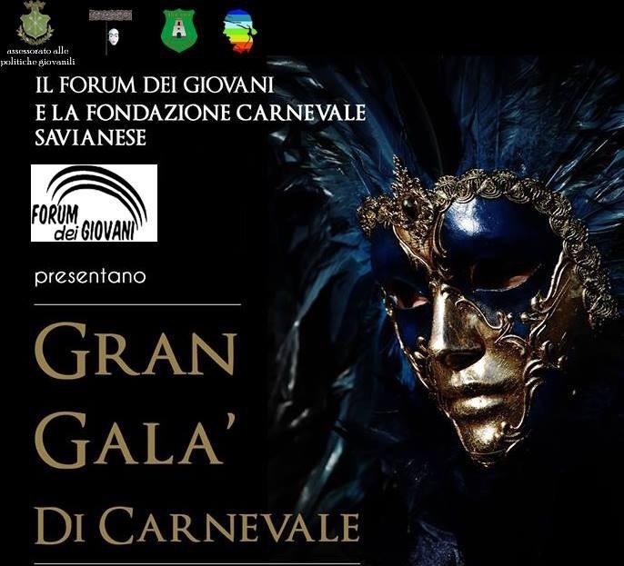 Gran Gala' di Carnevale domani sera nel Palazzo di Città a Saviano