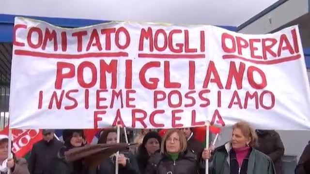 Slai cobas Fiat Pomigliano: in campo anche le mogli del Comitato attivo operaio