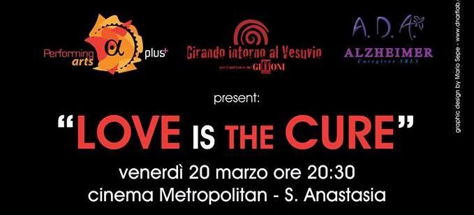 Locandina Love is The Cure - Copia