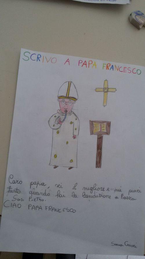 """Un """"book"""" per Papa Francesco dagli alunni di Scampia e del Parco Verde"""