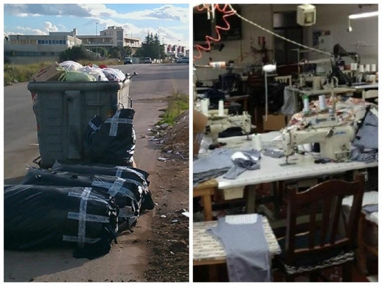 Task-force contro l'abbandono dei rifiuti. Controllate diverse fabbriche, due denunciati