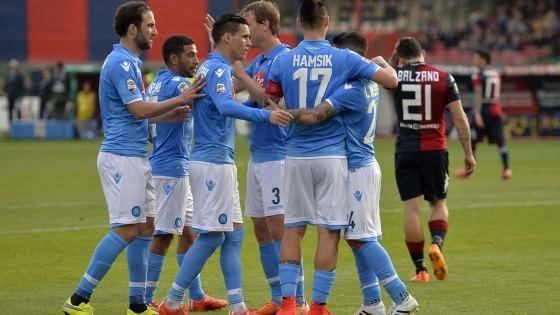 """Campionato di serie A: il Napoli è fuori dal """"tunnel"""" e rivede la Champions"""