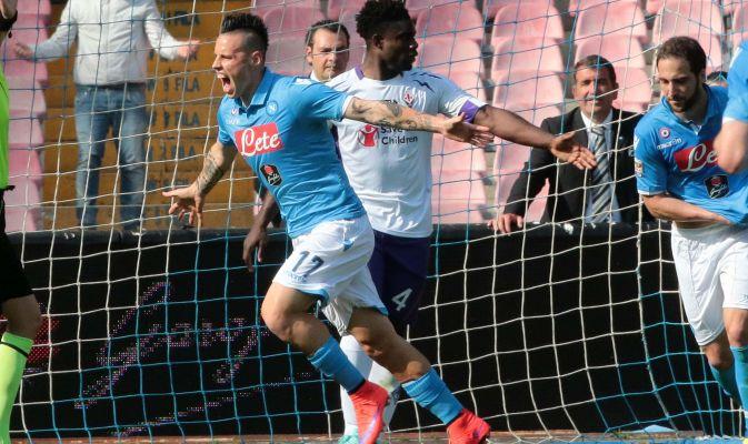 """Campionato di serie A: la Fiorentina """"guarisce"""" i mali del Napoli"""