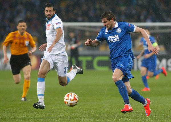 Europa league: azzurri inguardabili, in finale ci va il Dnipro