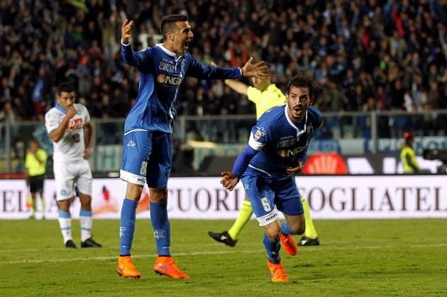 Campionato di serie A: l'Empoli umilia il Napoli