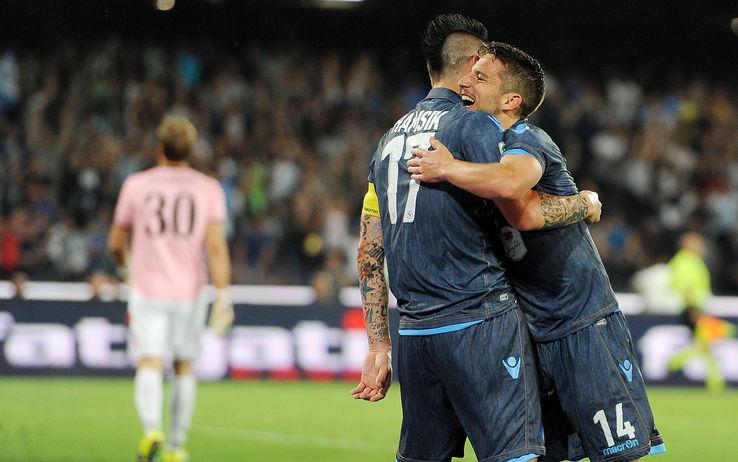 Campionato di serie A: Mertens e Gabbiadini fanno sorridere Benitez