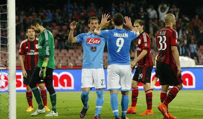 Campionato di serie A, Napoli: tre graffi al diavolo