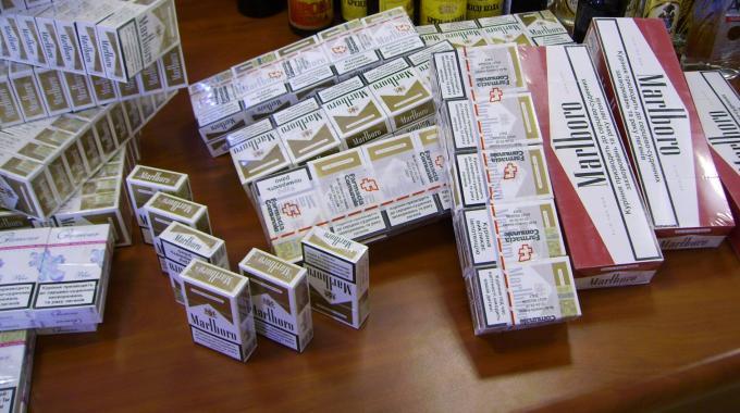 sequestro sigarette di contrabbando