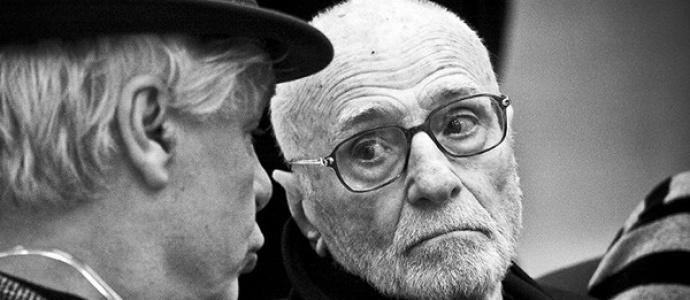 Mario Monicelli e Rap, 100 anni di cinema, foto, arte, cinema al Pan