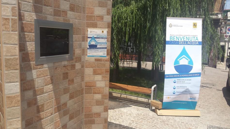 """Ecco la """"Casa dell'acqua"""" a Pomigliano FOTO La Provincia Online"""