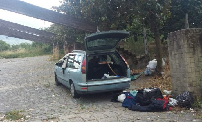 somma auto senza tetto