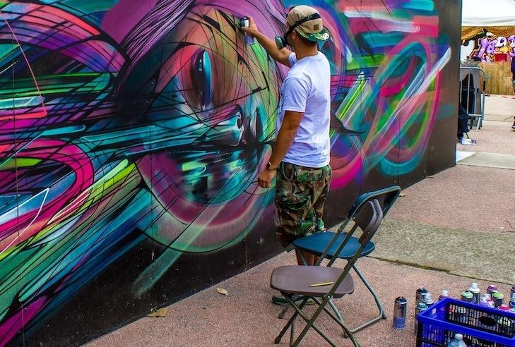 """""""Writers – street Art: Coloriamo Palma 2015"""", al via il concorso"""