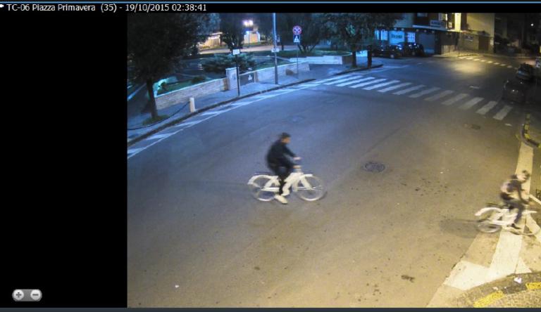 Bike sharing, individuati i ladri di biciclette dalle telecamere