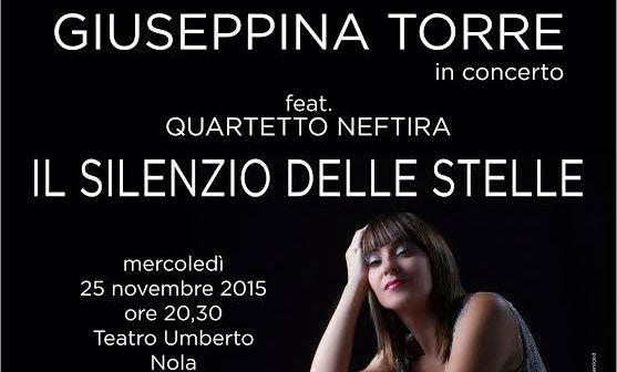 Violenza contro le donne, Giuseppina Torre in concerto