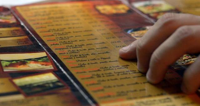 Menu di ristoranti, pub, bar tradotti nella lingua dei segni LIS e in Braille