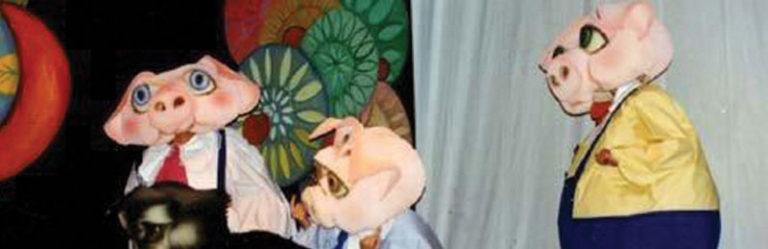 """""""I tre porcellini"""" in scena al Summarte"""