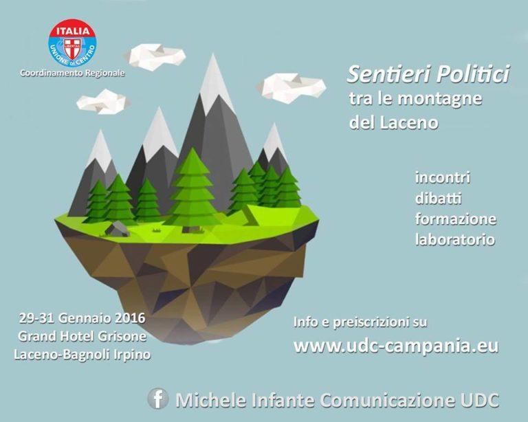 Week end di formazione politica per i giovani UDC sul Laceno