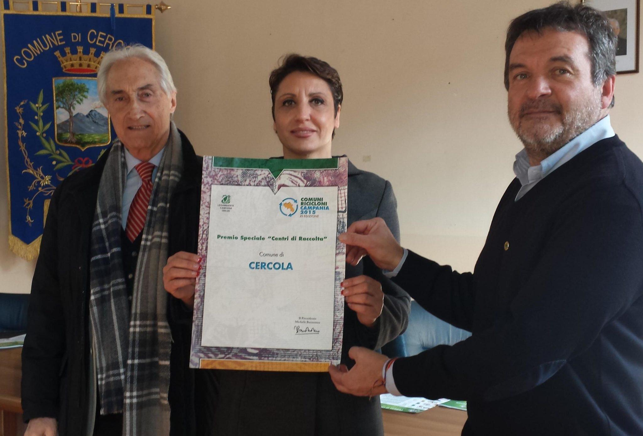 Raccolta differenziata, Legambiente premia Cercola e da oggi nuovo calendario