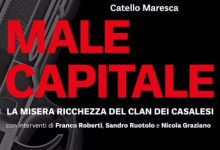 """Male capitale"", il libro di Catello Maresca, domani in biblioteca"