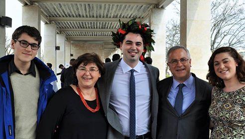 Congratulazioni a Michele La Marca per la sua laurea