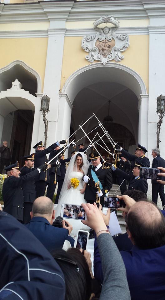 A Nola le nozze del comandante Maiello