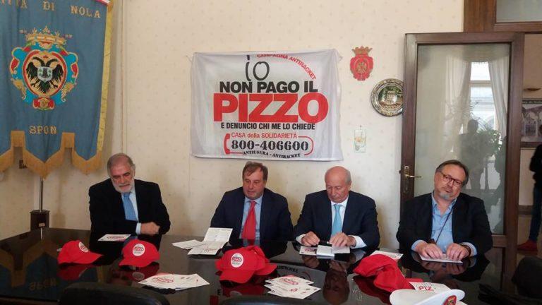 """Io non pago il pizzo"": al via a Nola la campagna antiracket"