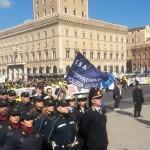 ROMA ALTARE DELLA PATRIA POLIZIA LOCALE 12 FEBBRAIO 2015