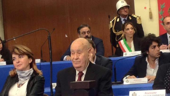 Pomigliano. Cittadinanza onoraria al prof. Giuseppe Coppola