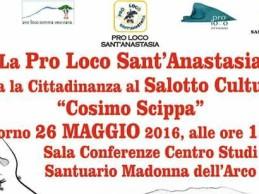 """S.Anastasia. Riparte il salotto culturale """"Cosimo Scippa"""""""