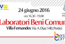 Laboratori Beni Comuni del Csv Napoli, confronto con le istituzioni