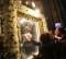 L'icona della Vergine di Pompei a Madonna dell'Arco il 29 giugno