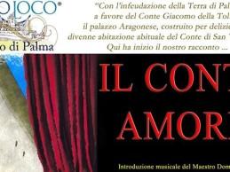 """""""Il Conte Amore"""", in scena la storia: evento domenica"""