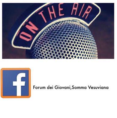 """""""On the air"""", il Forum dei Giovani in diretta su Facebook"""