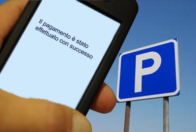 parcheggio si paga col telefonino