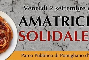 """""""Amatriciana solidale"""" a Pomigliano, l'invito dal vicepresidente Di Maio"""
