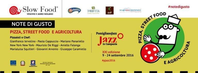"""A settembre """"Note di gusto"""" al Pomigliano Jazz Festival"""