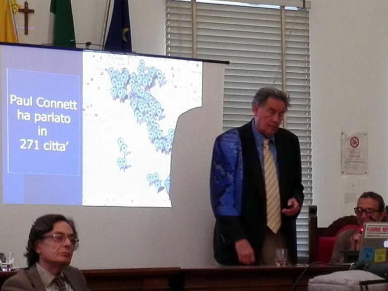 Convegno con Paul Connett contro il biodigestore a S. Pietro a Patierno
