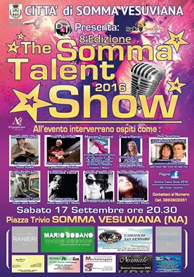 Sabato in piazza a Somma il Talent Show VIII edizione