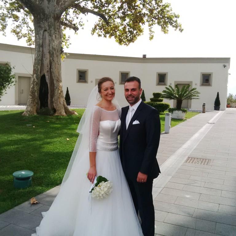 Festa grande a Liveri: si è sposato il vicesindaco